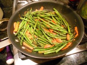 asparagus with thyme