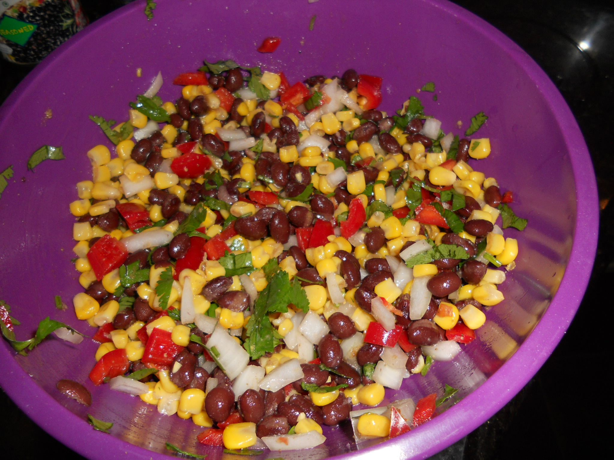 Corn and black bean salad | 2 Peas in a Blog